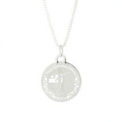Tonga Mission Necklace - Silver/Gold tonga lds mission jewelry