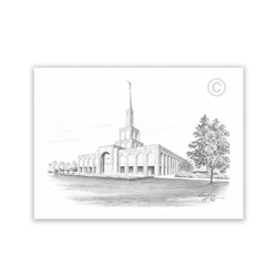 Toronto Ontario Temple Recommend Holder