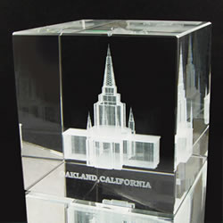 Oakland Temple Cube