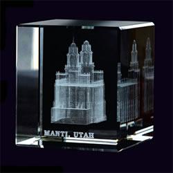 Manti Temple Cube