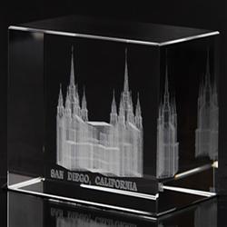 San Diego Temple Cube