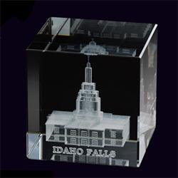 Idaho Falls Temple Cube