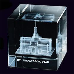 Mt. Timpanogos Temple Cube