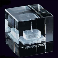Provo Temple Cube