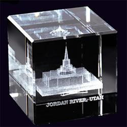 Jordan River Temple Cube