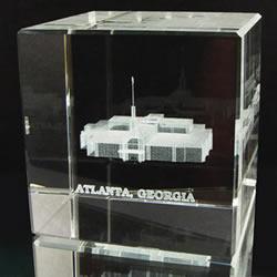Atlanta Temple Cube