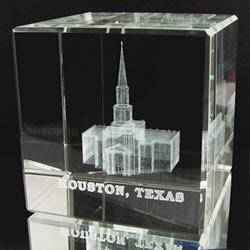 Houston Temple Cube
