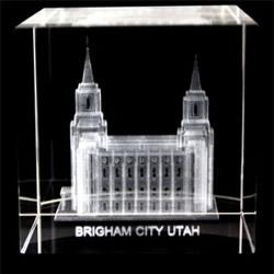 Brigham City Temple Cube