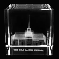 Gila Valley Temple Cube