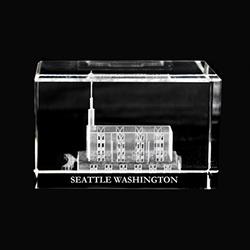 Seattle Washington Temple Cube