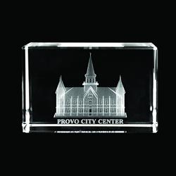 Provo City Center Cube