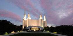 Washington D.C. Temple Recommend Holder