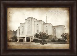 Albuquerque Temple - Vintage Framed