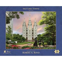 Salt Lake Temple Rainbow Puzzle