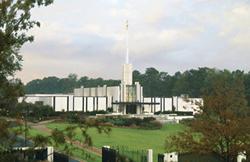 Atlanta Georgia Temple - Print