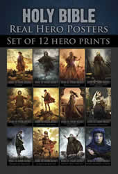 Real Hero Bible Pocket Card Set