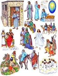 Birth of Jesus Felt Story