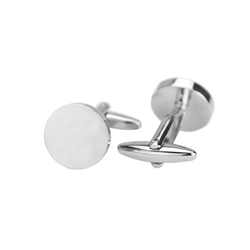 Customizable Circle Cufflinks