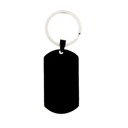 Customizable Dog Tag Keychain