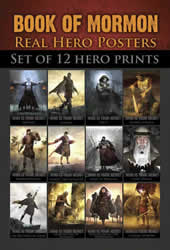 Real Hero Book of Mormon Pocket Card Set