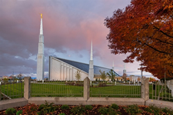 Boise Temple - Sunset - LDP-RBBOISESUNSET