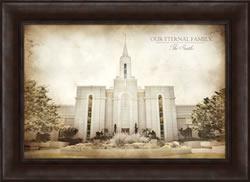 Bountiful Temple - Vintage Framed