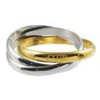 Two-Tone Roll CTR Ring - RM-C09871
