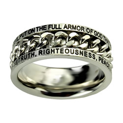 Armor of God Chain Ring - ST-CHAIN AOG