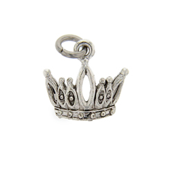 Crown Charm crown charm, virtue charm
