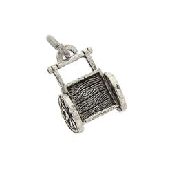 Handcart Charm lds pioneer jewelry, lds handcart jewelry