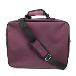 Burgundy Carry-all Temple Bag