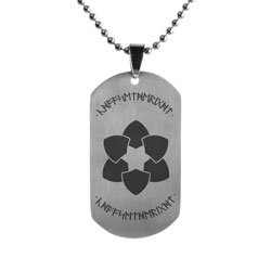 Dwarvish Choose the Right Dog Tag