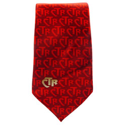 Men's Red CTR Necktie