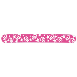 Pink CTR Slap Bracelet