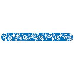 Blue CTR Slap Bracelet