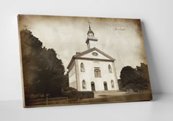 Kirtland Temple - Vintage Canvas Wrap