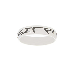 Klingon Choose the Right Ring - Narrow Klingon CTR Ring, Star Wars CTR Ring