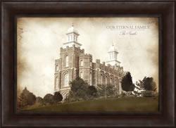 Logan Temple - Vintage Framed