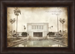 Mesa Temple - Vintage Framed