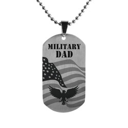 Military Family Dog Tag