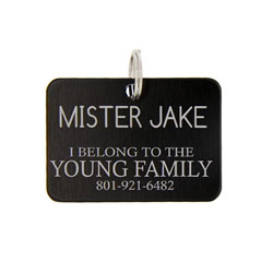 Personalized Missionary Pet Tag