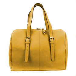 Classic Mustard Temple Bag - LDP-DBRTP02MUS