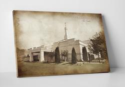 Nashville Temple - Vintage Canvas Wrap