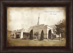 Nashville Temple - Vintage Framed