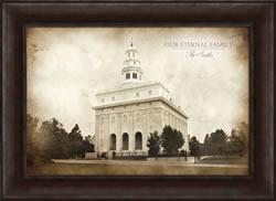Nauvoo Temple - Vintage Framed