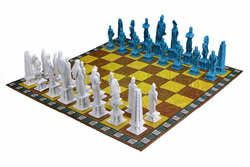 Nephites vs Lamanites Book of Mormon Chess & Checkers Set