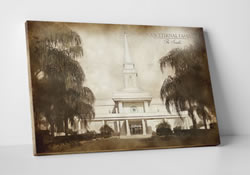 Orlando Temple - Vintage Canvas Wrap