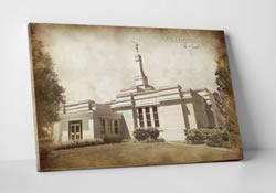 Palmyra Temple - Vintage Canvas Wrap