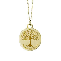 Families Are Forever Necklace - Gold - LDP-CPN1099