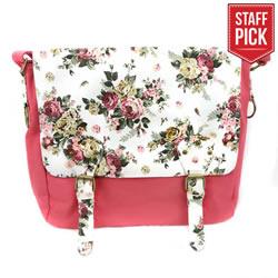 Pink Floral Tote - CF-P67300